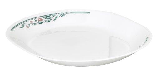 Corelle Livingware 12-1/4-Inch Serving Platter, Rosemarie