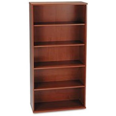 Series C Collection 36W 5 Shelf Bookcase Hansen Cherry