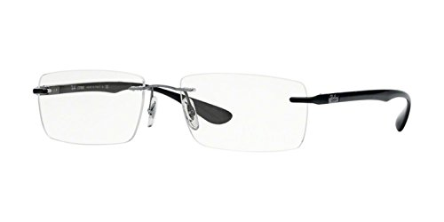 Ray-Ban Men's RX8724 Eyeglasses Gunmetal 54mm