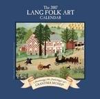 Lang Folk Art 2007 Wall Calendar ()