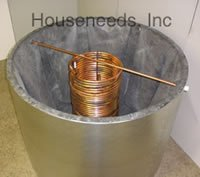 Hydroflex T1900 Solar Thermal Storage Tanks. Wood Storage Tank, Wood Boiler by Hydroflex