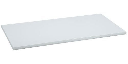 Organized Living freedomRail Wood Shelf, 60-inch x 14-inch - White