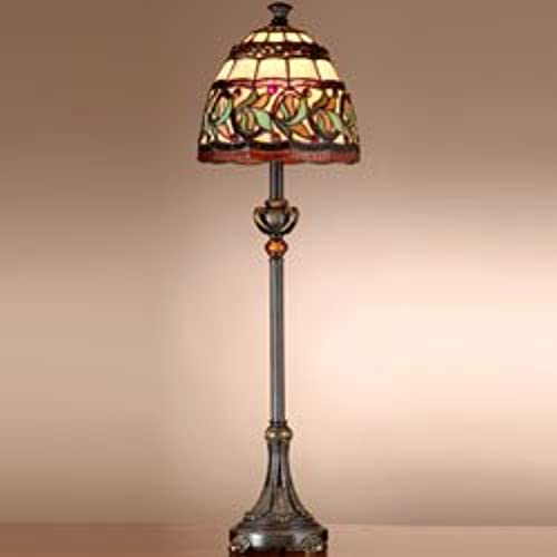 Dale Tiffany TB101109 Aldridge Buffet Lamp, Antique Bronze