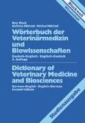 Wörterbuch für Veterinärmedizin und Biowissenschaften, Deutsch-Englisch/Englisch-Deutsch, Studienausgabe