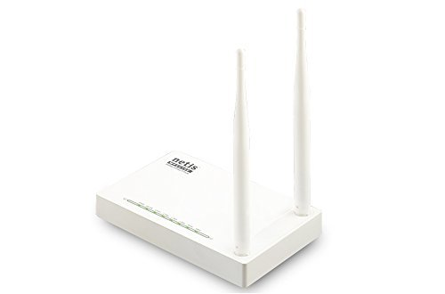 Netis N300 Wireless High Gain Router, 5dBi Fixed Antennas (WF2409E) by Netis