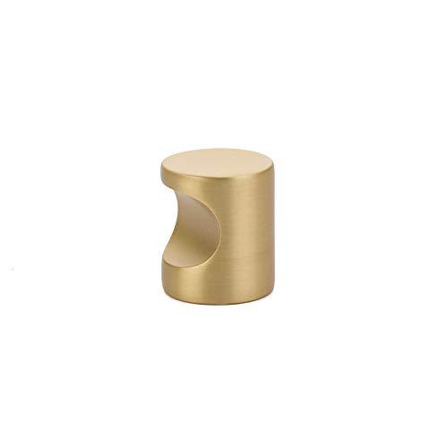 Emtek Finger Cabinet Pull Knob, 7/8