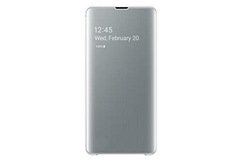 Samsung Galaxy S10+ S-View Flip Case, White