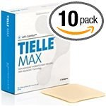 Systagenix Tielle Max Non-Adhesive Hydropolymer Wound Dressing - 4-1/4 X 4-1/4 Inch