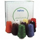 (Trait-tex Double Weight Dispenser Box, Assorted Bright Colors, Set of 9)