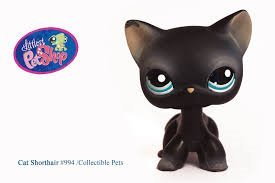 Amazon Com Littlest Pet Shop 994 Cat Shorthair Everything Else