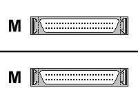 10ft SCSI2 External Cable Hd50m/hd50m by APC