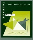 img - for Linear Algebra, Mathematica Labs book / textbook / text book