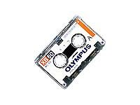 Olympus XB60 Microcassette Tape, Single Cassette by Olympus