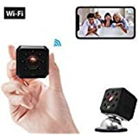 Spy Camera Wireless Hidden WiFi Camera Ehomful HD 1080P Mini Camera Portable Security Cameras with Night Vision and Motion Detective Perfect Covert Security Camera for Home and Office [2019 Upgrad]