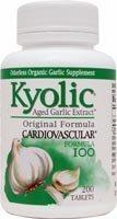 Hi Po Formula (Kyolic Aged Garlic Extract Hi-Po Cardiovascular Original Formula 100 - 200 Tablets)