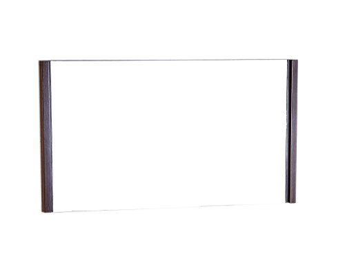 Bellaterra Home Wood Frame Mirror with Wenge Color Finish, 48″