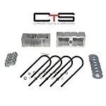 Chassis Tech X2-BLO-4-RND-D Lift Blocks 4'' Lift 2.25X6 Round Ubolts Call if Yours are Square