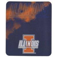 - The Northwest Company NCAA Officially Licensed Illinois Illini Smoke Fleece Throw Blanket