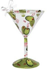 Lolita Dirty Martini Mini-Tini Ornament Retired - Beverage Vino Bar ORN2-5575B