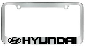 Hyundai License Plate Frame -