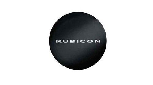 Genuine Jeep Accessories 82210079AB Khaki Cloth Spare Tire Cover with Rubicon Logo