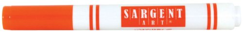 Sargent Art 12 Count Broad Tip Marker, Orange