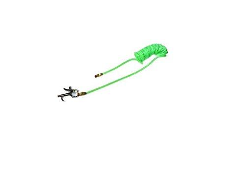 - 600-PR532-10B-G Flexcoil 5/32 ID x 10, 1/4 MPT x 600-S, Neon Green