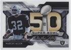 Marcus Allen (Football Card) 2015 Topps Chrome - Super Bowl 50 Die-Cuts #SBDC-MA
