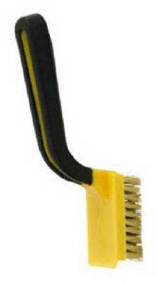 Hyde Tools 46801 Wide Brass Stripping Brush - Quantity 6 .