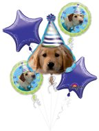 - Anagram BB021470 Puppy Party Mylar Balloon Bouquet