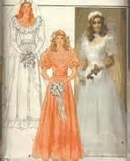 Butterick Pattern Vintage Uncut Dress - VINTAGE UNCUT & OOP BUTTERICK 4765 BRIDAL GOWN / WEDDING DRESS & CUMBERBUND SEWING PATTERN MISSES' SIZE: 16