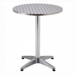 SupaGarden alumimium garden / cafe metal table - 60x70 centimeter