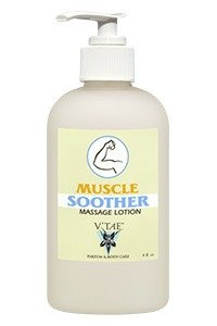 (Muscle Soother Massage Lotion V'TAE Parfum and Body Care 8 oz Lotion)