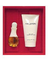 Halston by Halston for Women 2 Piece Set Includes: 3.4 oz Cologne Spray + 4.0 oz Perfumed Body Lotion