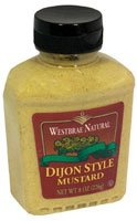 Westbrae Natural Dijon Style Mustard -- 8 oz - 2 pc