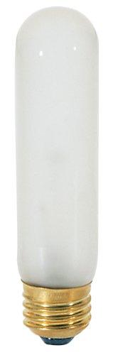 25w T10 Incandescent Bulb (Satco S3251 120V Medium Base 25-Watt T10 Light Bulb, Frosted)