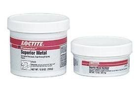 Loctite Fixmaster Gray Two-Part Epoxy Adhesive - Gray, Base & Accelerator (B/A) - 1 lb Kit - Shore Hardness 90 Shore D, Shear Strength 2820 psi, Tensile Strength 5500 psi by Loctite