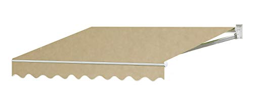 Sequoia 13'X10' Outdoor Patio Cover Yard Awning Retractable Sun Shade Shelter TAN (Covers Patio Retractable)