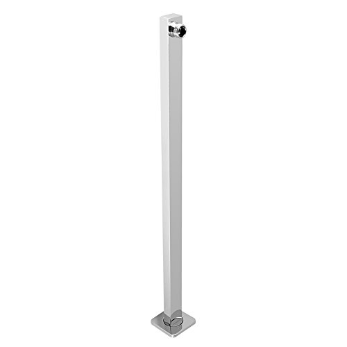 Shower Arm Adjustable Extension Arm Stainless Steel Construction Universal Showering Components Straight Wall Mounted Bathroom Supplies 60cm / ()