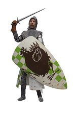 ERIC IDLE AS SIR ROBIN * The Dirty Knights Collection (Muddy Version) * 12 Inch Monty Python and the Holy Grail 2002 Sideshow Toy Collectible Action Figure