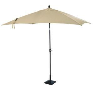 Hampton Bay D9127-U Woodbury 9 ft. Patio Umbrella in Textured Sand