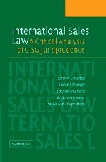 International Sales Law: A Critical Analysis of CISG Jurisprudence