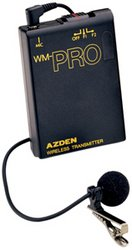 AZDEN WLTPRO Extra WL/T-PRO Belt-Pack Transmitter with Microphone ()