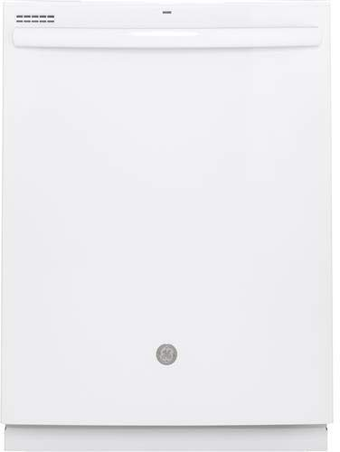 GE GDT605PGMWW 24 Inch Built In Fully Integrated Dishwasher with 4 Wash Cycles, 16 Place Settings, in White