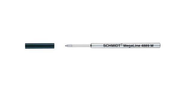 tama/ño mediano Schmidt: presurizados 4889 recarga para Fisher Space Pen SPR4 tinta negra 6 unidades.