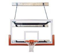 最初チームsupermount46 Victory steel-glass壁マウントバスケットボールsystem44 ;スカーレット B01HC0DD9U