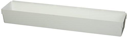 Rubbermaid 15x3x2-Inch Drawer Organizer, White (2-Pack)