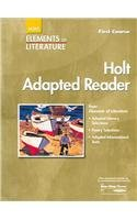 Elements of Literature: Adapted Reader First course