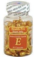 Vitamine E huile peau gelée royale, 90 gélules (Pack de 2)