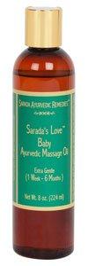 8 oz Baby Massage Oil (1 Week-6 Months) ()